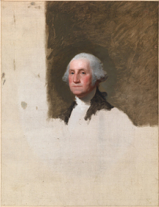 George Washington The Athenaeum Portrait
