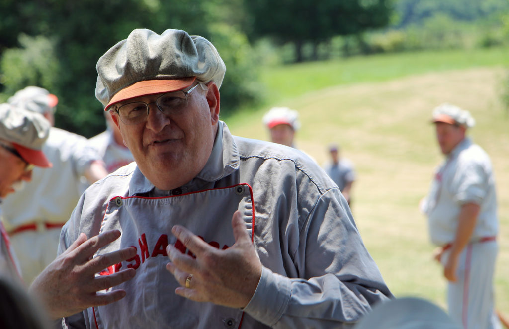 Brad Shaw president of the Flemington Neshanock Base Ball Club