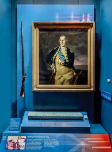 washington's blue sash