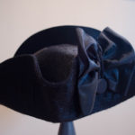 a genteel napped fur felt cocked hat