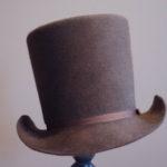 fur felt round gentlemen's hat from the Federal Era