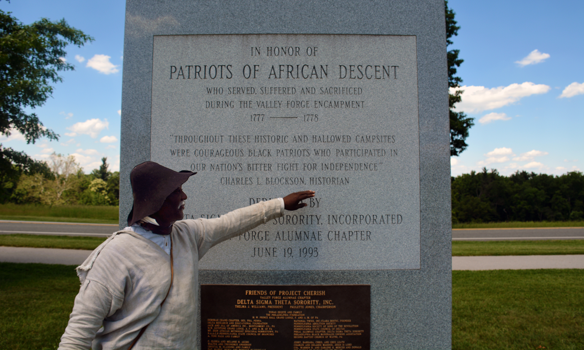 Patriots of African Descent Monument