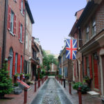 colonial philadelphia street view