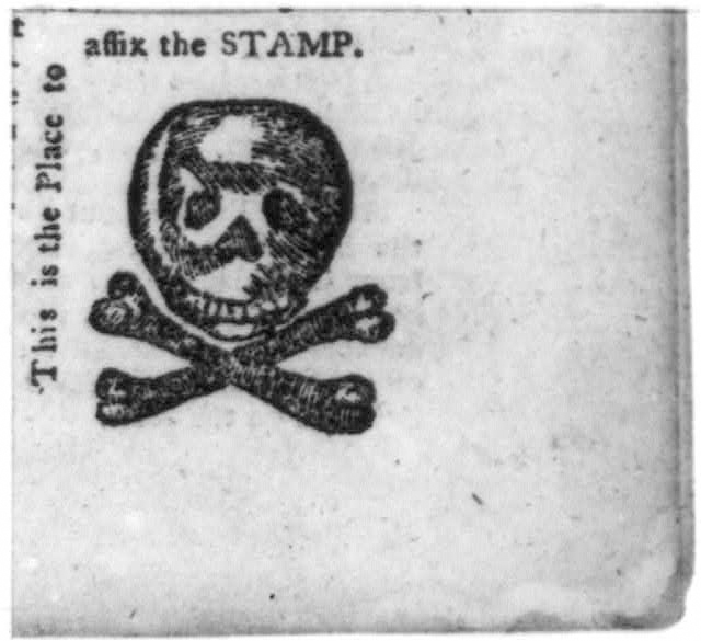 william bradford's stamp print